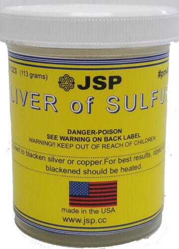 JSP® Liver Of Sulfur 4 Oz Jar (pm400)