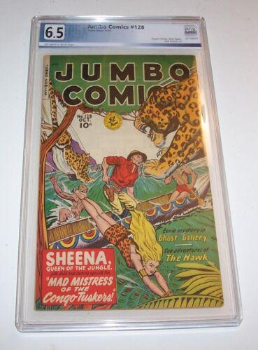 Jumbo Comics #128 - PGX FN+ 6.5 - 1949 Fiction House Golden Age issue