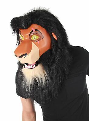 Scar Mouth Mover Mask Disney Lion King Fancy Dress Halloween Costume - Lion King Scar Costume