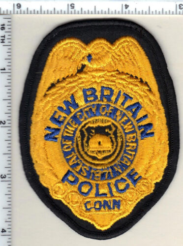 New Britain Police (Connecticut) Shirt/Jacket Patch - new from 1982