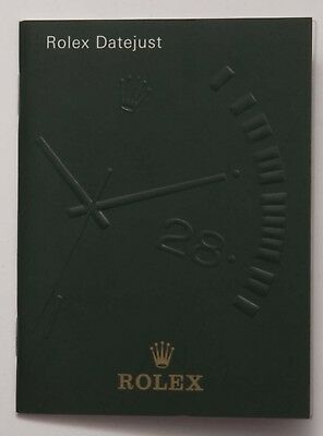 Genuine Rolex Datejust Vintage 1999 English Manual Booklet Papers Book Guide (b