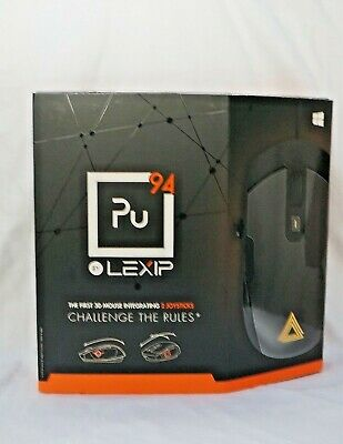 OPEN BOX - Lexip - Pu94 Wired Gaming Mouse, Black