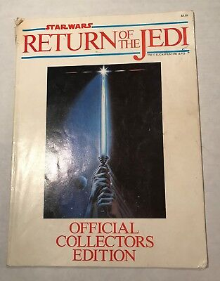 Return of the Jedi Official Collectors Edition Book - Vintage Star Wars 1983