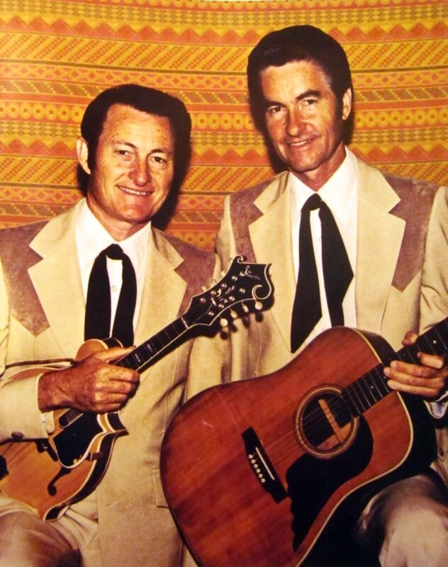 JIM & JESSE McREYNOLDS country clipping 80s color photo Grand Ole Opry bluegrass