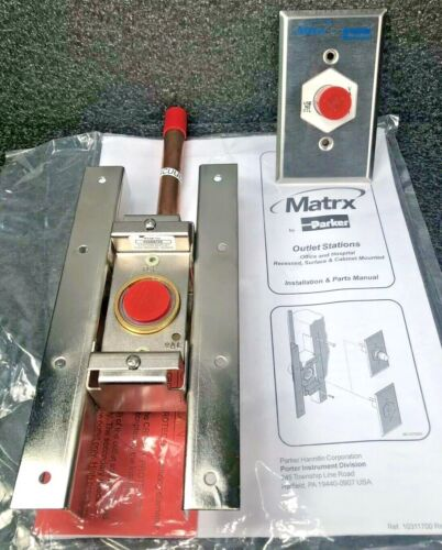 NEW Matrx By Parker Porter Dental Medical Gas Vacuum Outlet Station 91309169
