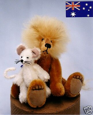 """""""LEROY & LUCY""""- LION & MOUSE PATTERN FROM KYMPATTI AUST"""