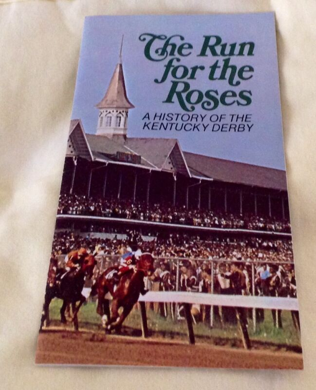 Estate 1971 The Run for the Roses History of Kentucky Derby Brochure