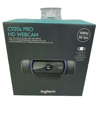 Logitech C920S Pro HD Webcam 1080p with Privacy Shutter - BRAND NEW!