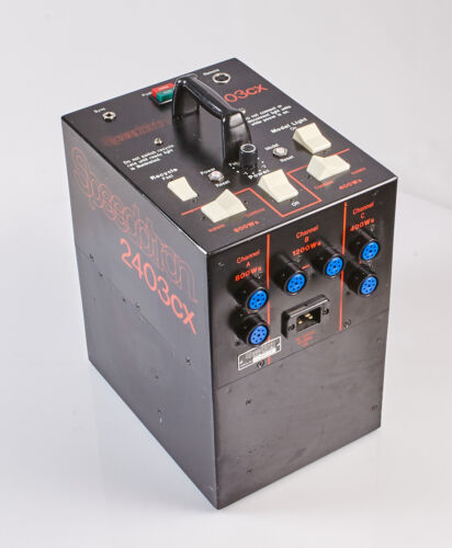 Speedotron Black Line 2403cx  Power Supply - 2400ws