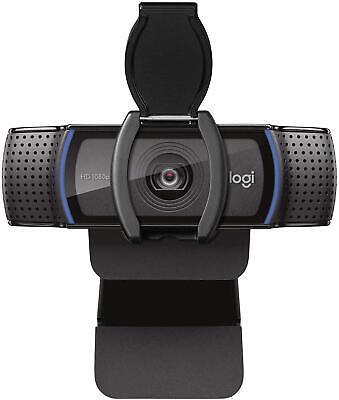 Logitech C920s HD Pro Webcam with Privacy Shutter 1080p Widescreen Video