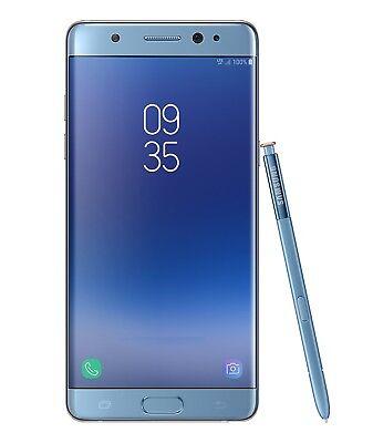 """Samsung Galaxy Note FE SM-N935F/DS Blue (FACTORY UNLOCKED) 5.7"""" 64GB 4GB RAM"""
