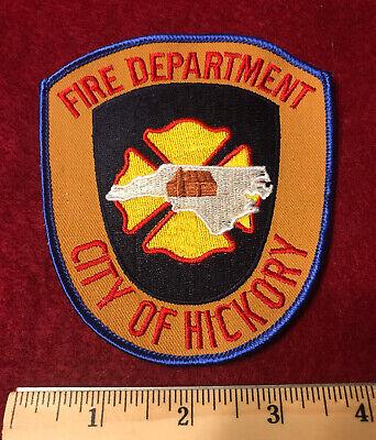 City Of Hickory Nc (VINTAGE CITY OF HICKORY NORTH CAROLINA NC FIRE DEPT PATCH CALDWELL)