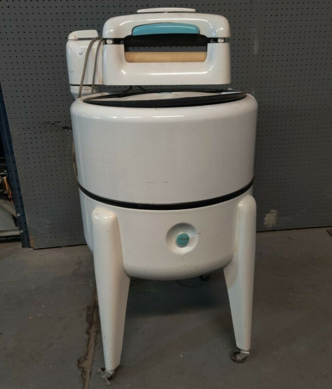 VINTAGE MAYTAG WRINGER WASHER ELECTRIC WASHING MACHINE MODEL N2LS