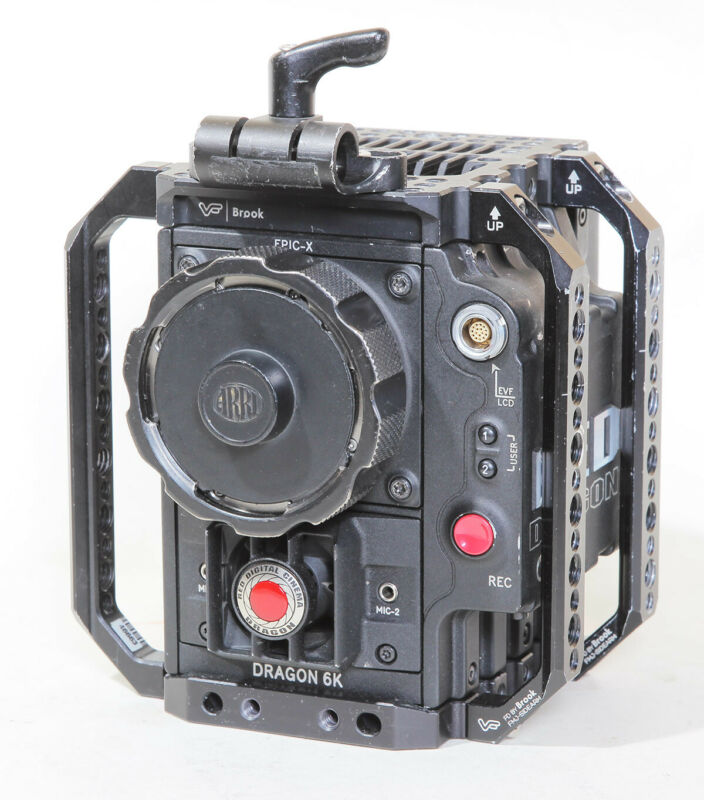 Red DSMC Epic Dragon S35 6K camera - Titanium PL Mount