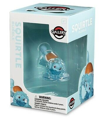 Pokemon Center Exclusive Pokemon Gallery Figure Squirtle Bubble NIB