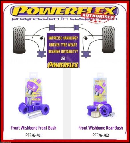 Powerflex Front Wishbone Bush Kit Pff76-701/702 For Lexus Nx (2014-