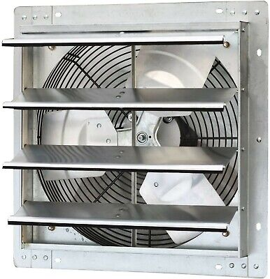 Iliving - 16 Wall Mounted Exhaust Fan - Automatic Shutter - Variable...