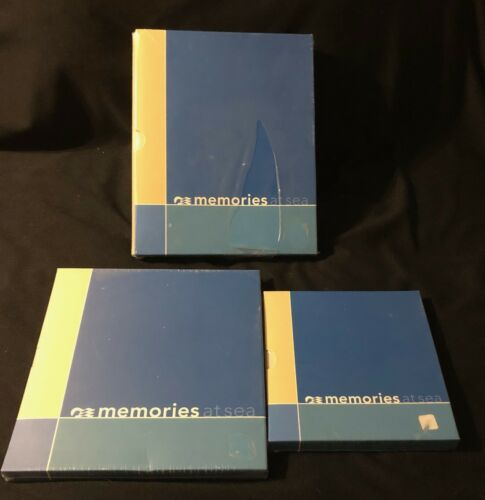 PRINCESS CRUISES LOT OF 3 PHOTO ALBUM AND PHOTO FOLIOS-NEW
