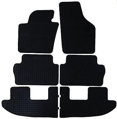 1 2 3 Sitzreihe Original Seat Allhambra Gummifußmatten-Set, Allwettermatten