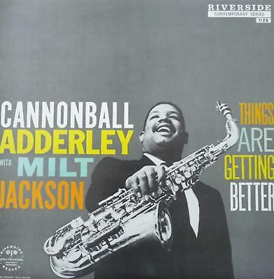 Vinyl! Cannonball Adderley w. Milt Jackson - Things Are Getting Better