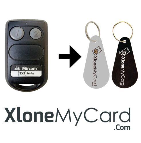 Copy / Clone RFID Mircom Garage Remote TX3-WRT-2-H