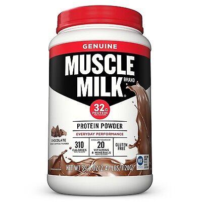 CytoSport Muscle Milk Protein Powder Shake 2.47 lbs CHOOSE FLAVOR Milk Protein Powder