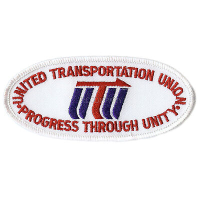 Patch-  United Transportation Union (UTU)  #12387  -NEW-Free Shipping