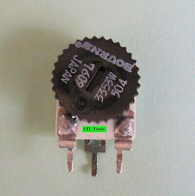 1 Pc 0-500k Ohm Trim Pot Bourns 3353w-504 Linear Potentiometer Free Sh In Us