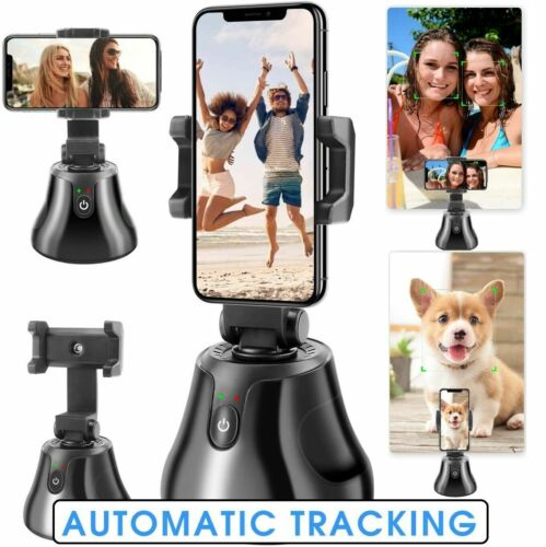360°Rotation Selfie Stick Auto Face&Object Tracking Smart Shooting Phone Holder