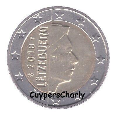 Luxemburg 2018 2€ UNC