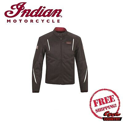 GENUINE INDIAN MOTORCYCLE BRAND MEN'S SPRINGFIELD 2 MESH JACKET NEW SCOUT CHIEF