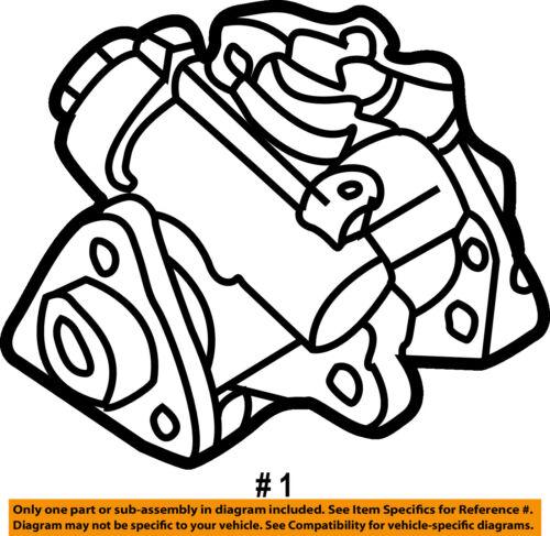 Audi Oem 01 05 Allroad Quattro Power Steering Pump 4b0145156n