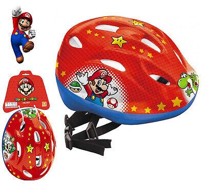 Casco Bici para Niños Vinilo Bob Regulable Súper Mario Bros
