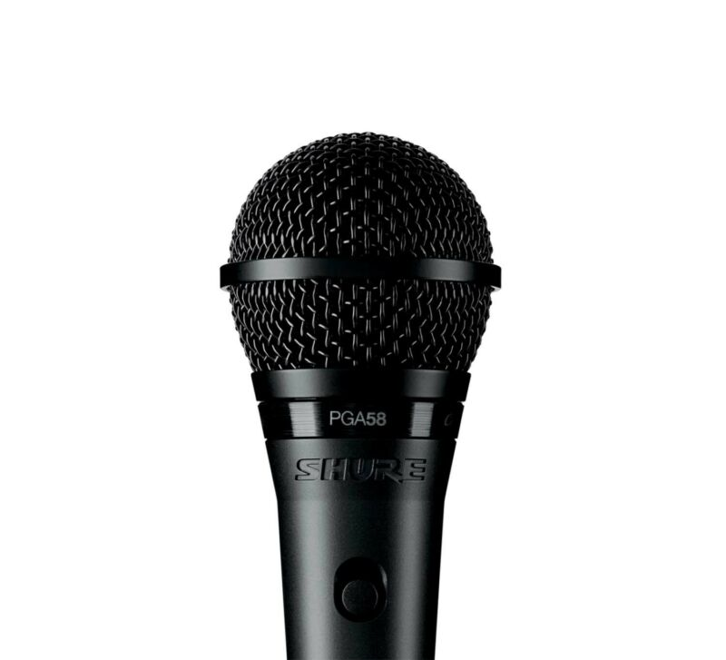 Shure PGA58BTS, Vocal Microphone Kit with PGA58 Cardioid Mic