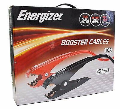 NEW Energizer 1-Gauge Jumper Battery Cables 25 Ft Booster Jump Start ENB-125
