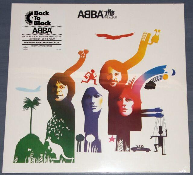 ABBA - The Album Vinyl LP 180 Gramm + MP3 Download Neu / OVP