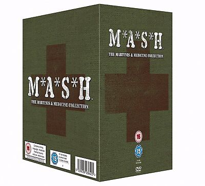 MASH 1-11 (1972-1983): COMPLETE M.A.S.H. TV Series Seasons! - NEW R2 DVD not US