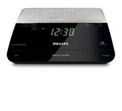 Philips AJ3226 FM Digital Tuning Alarm Clock Radio 220-240 Volts