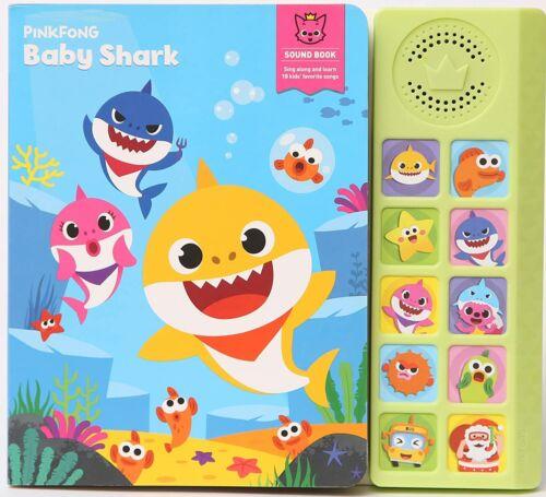 Pinkfong Baby Shark Sing-Alongs Sound Book Music CD