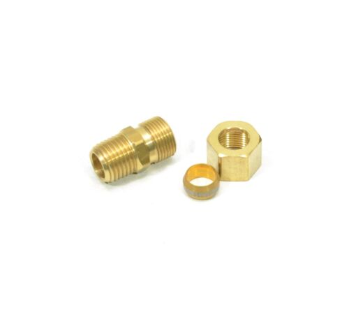 "3/8"" Tube OD Compression to 1/4"" Male NPT Fitting Adapter Connector"