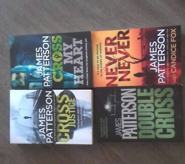 James Patterson books - group of 4
