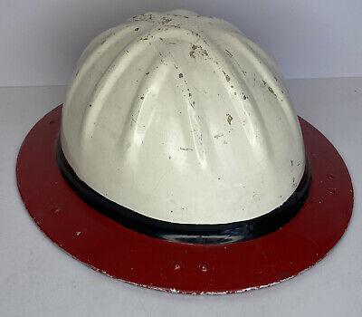 Vintage Original B. F. Mcdonald Co. Aluminum Roughneck Hard Hat Los Angeles Ca