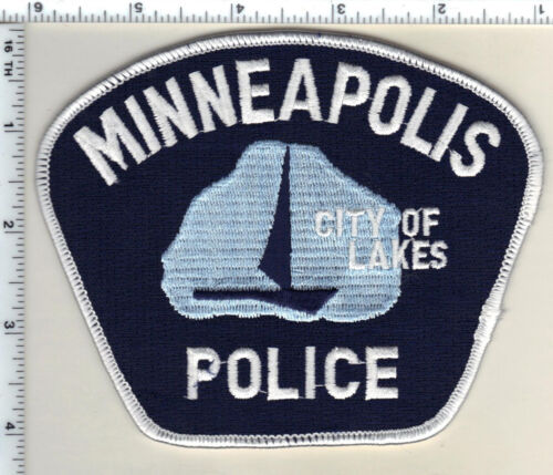 Minneapolis Police (Minnesota) larger new style Shoulder Patch new from 1985