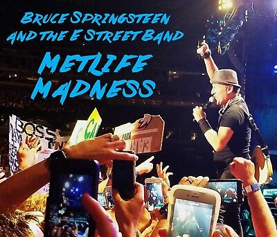 Bruce Springsteen   Metlife Madness 6 Cd  Live Born To Run Badlands Hungry Heart