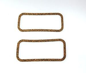 Mini-or-Moke-Pair-Side-Plate-Gaskets-Thin-Cork-NEW
