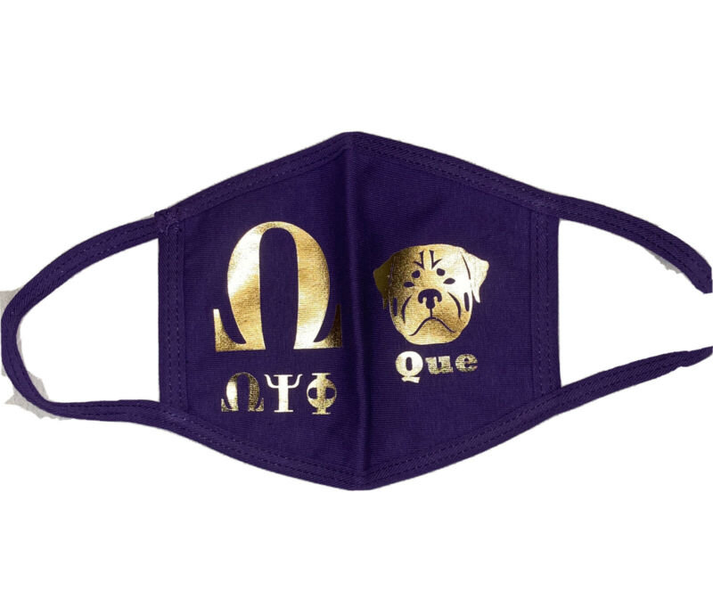 Omega Psi Phi Protective Mask New Free Shipping