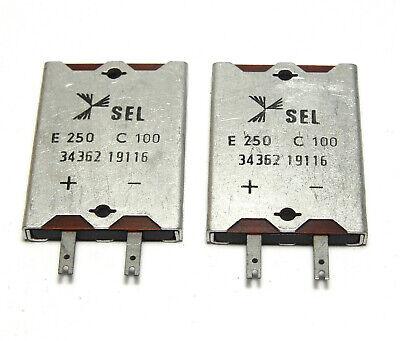 NOS E250 C50 4x Siemens Einweg-Gleichrichter Röhren-Radio Gleichrichter