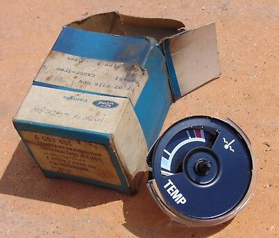 Classic Ford Granada Mk1 Consul Temperature Gauge Head NOS Part no 74GB 10970 AA