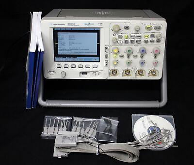 Agilent Mso6104a 2mh Dc-1ghz 4gss 2m 4ch16ch Mixed Oscilloscope