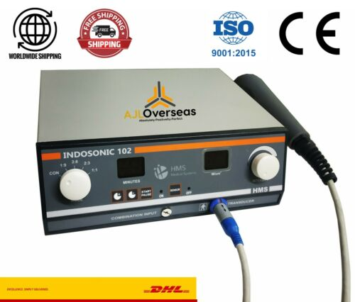 New INDOSONIC 102 Digital Ultrasound1- MHz Physical Therapy Pain Relief Machine